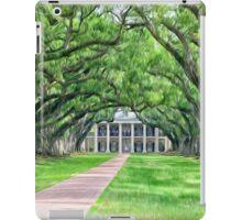 Louisiana plantation iPad Case/Skin