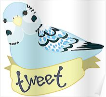 Tweet birb Poster