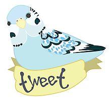 Tweet birb by rawrkelsey