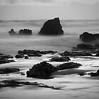 River Rocks 4, Aireys Inlet by Heather Davies