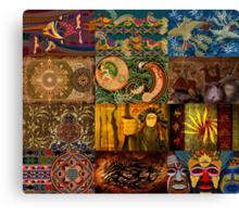 Tribal Design 7 Canvas Print