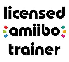 Licensed amiibo trainer Photographic Print