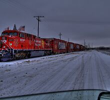 CP  Christmas Train 2008  by PFrogg