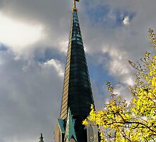 Savannah Steeple 1 by Bob Moore