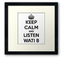 wati b Framed Print