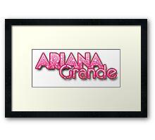 ariana Framed Print