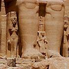 Nefertari and daughter  by Nancy Richard
