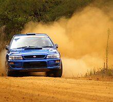Slidin' Subaru by Peter Evans