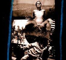 Ella Preggers as Sculpture with K-boy by Mario  Scattoloni