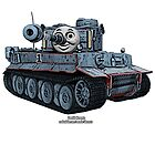 Tomas the Tank by dkrentz