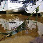 Port Nis Low Tide by lezvee