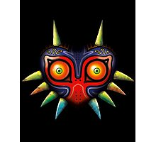 Majora's Mask (Zelda) Photographic Print