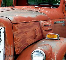 1950s Red International Harvester Truck by GesturesPhoto