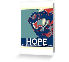 FC BLUE Hope Greeting Card
