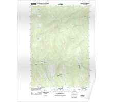 Maine USGS Historical Map Wellington 20110831 TM Poster