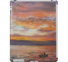 Early Morning Catch iPad Case/Skin