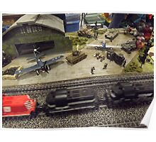 Scale Model Trains, Scale Model Airplanes, Greenberg's Train and Toy Show, Edison, New Jersey  Poster