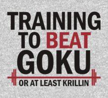 Training to beat Krillin 1 by TaoSan