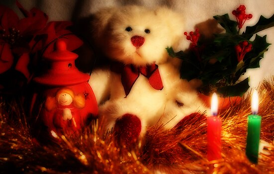 Christmas Bear by Evita