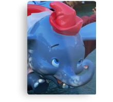 Flying Elephants Metal Print