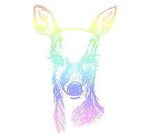Rainbow Fawn by Violet Lebeaux