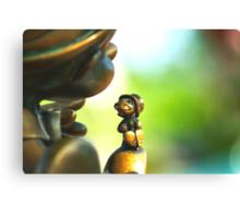 Bronze Pinocchio Canvas Print
