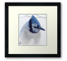 A  Blue Afternoon Framed Print