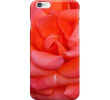 Coral Red iPhone Case/Skin