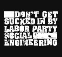 Social Engineering (For Dark Shirts) by KevinBS