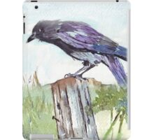 Coco on the fencepost iPad Case/Skin