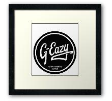 EAZY Framed Print