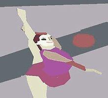 Rhythmic Gymnast  by monica98