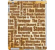 Classic Rock iPad Case/Skin
