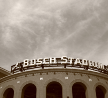 Busch Stadium - St. Louis Cardinals Sticker