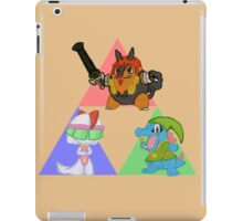 Pokemon Triforce - Colored iPad Case/Skin