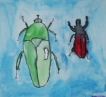 I Love Bugs by Zoe Thomas age 7 by Julia  Thomas
