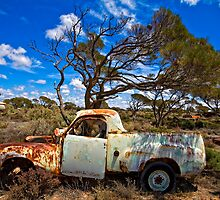 Koonalda Homestead - Nullarbor Plain, South Australia by Stephen Permezel