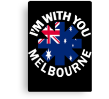 RHCP - im with you melb Canvas Print