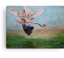 Glide Canvas Print