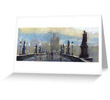Prague Charles Bridge 06 Greeting Card