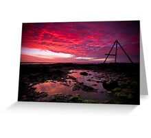 Ricketts Point Sunset Greeting Card
