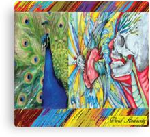 VIVID BIRDS OF A FEATHER Canvas Print