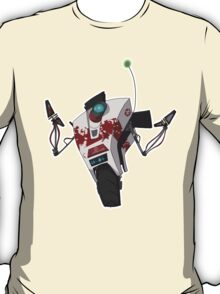 Dr. Zed's Claptrap Sticker T-Shirt