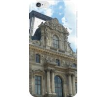 The louvre in Paris, France iPhone Case/Skin