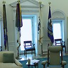 Panorama of the LBJ Oval Office by Frans Harren