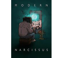 Modern Narcissus Photographic Print