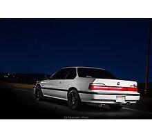 CarAndPhoto - Honda Prelude - Rear Photographic Print