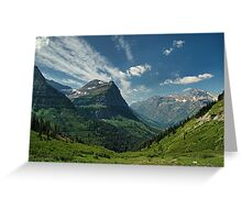 Mountian View Greeting Card