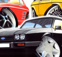 Ford Capri Collection Sticker