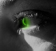Green Eyed Monster by tuffcookie